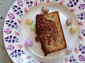 Easter Treat Marbled Banana Chocolate Hazelnut Loaf, Gluten Free