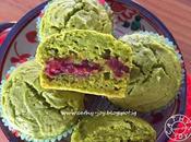 Matcha Yoghurt Azuki Muffins