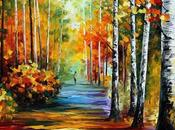 Colorful Oil-Painted Landscapes Leonid Afremov