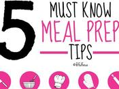 Five Must Know Meal Prep Tips