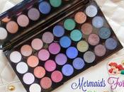 Makeup Revolution Ultra Shadow Palette Mermaids Forever Review, Swatches