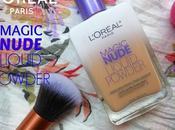 L'Oreal Paris Nude Magic Liquid Powder Foundation (320) Natural Beige Review, Swatches