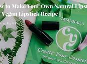 Make Your Natural Lipstick Vegan Recipe