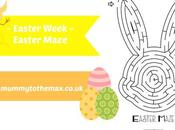 Easter Week Maze Free Printable