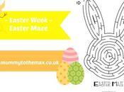 Easter Week Maze Free Printable