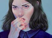 Acrylic Portrait Paintings Martine Johanna