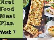 Real Food Meal Plan Week 2016