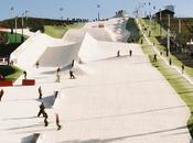 Snowboarding Slope