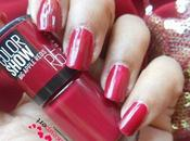 Maybelline Color Show Apple Reds Nail (R5) Pepper Review, Nails
