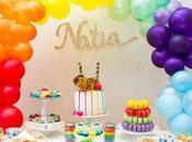 Gorgeous Rainbow Party Sugar Monk
