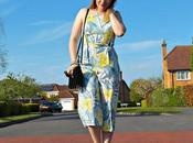Tropical Print Culotte Jumpsuit Fringing Vibes Style