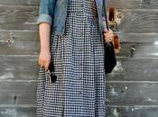 Look Day: Linen Gingham Babydoll Dress