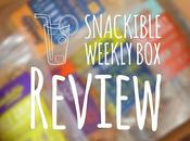 Review: Snackible Healthy Snacks Subscription