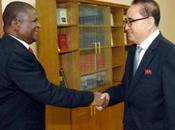 Yong Meets with Mozambique Delegation