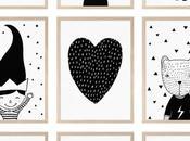 Cutest Black White Prints