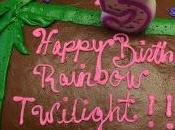 Happy Birthday Rainbow Twilight