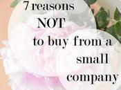 Reasons From Small Company