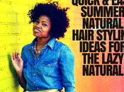 Lazy Naturals: These Quick Easy Minute Natural Hairstyles Summer