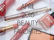 April 2016 Beauty Favorites