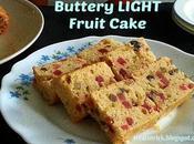 Buttery Light Fruit Cake