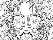 Adult Coloring Book Chuck Palahniuk Coming October!