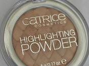 Catrice Highlighting Powder Champagne Campaign