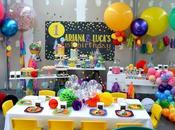 Confetti, Tassel Balloon Themed Birthday Sugar Coated Candy Dessert Buffets