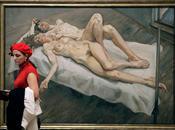 London Brawl Royal Academy National Portrait Hockney Freud