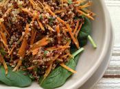 Quinoa Carrot Cilantro Salad