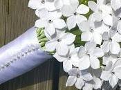 Stephanotis Bouquet Wedding Hair