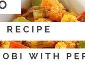 Paleo Indian Vegetarian Recipe Phul Gobi With Peppers