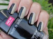 Black Beige Nails Day!