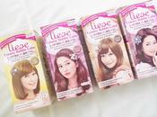 Liese Creamy Bubble Hair Color Review Event Photos