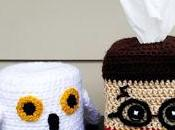 Latest Crochet Creation: Harry Potter Themed Tissue Hedwig Toilet Paper Roll Cozy