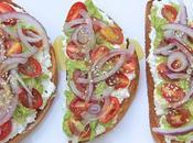 Beach Eats: Zesty Open Faced Summer Sandwich
