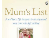 Book Club: Mum's List Mother's Life Lessons Husband Sons Left Behind