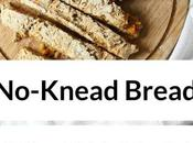 No-Knead Bread with Sweet Potato Pine Nuts Vegan