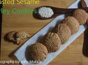Toasted Sesame Barley Cookies, Make Cookies with Ginger