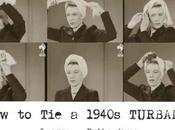 1940s Fashion Make Glamorous Turban