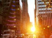 Photographing Manhattanhenge