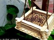 Bird Feeder With Cream Sticks