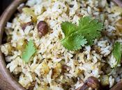 Potato Rice Lunch (Aloo Bhath)