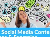 Social Media Content Marketing Ideas with Examples