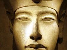 Akhenaten Ancient Egyptian Pharaoh.