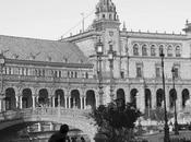 Plaza España, Seville (Digital Drawing Photo Manipulation Reminigram)
