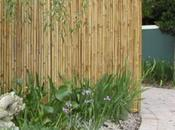 Frame Rolled Bamboo Fencing