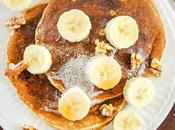 Whole Grain Pancakes with Oats, Bananas, Walnuts Celtic Salt