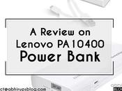 Performance Review Lenovo PA10400 Power Bank