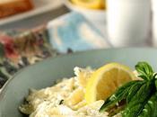 Lemon Ricotta Pasta with Basil