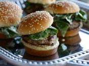 Lamb Sliders with Spinach: Seasoned Hatch Chiles